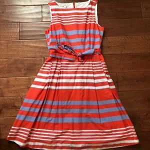 LLBean Signature Striped Cotton Dress